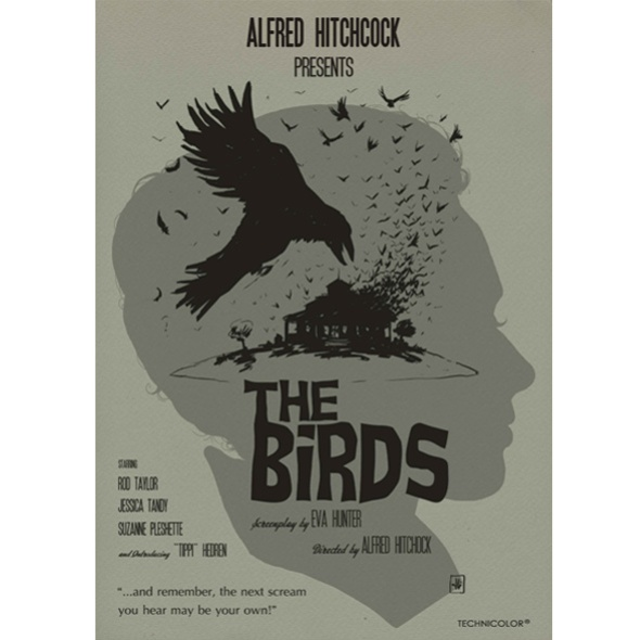 poster película The Birds